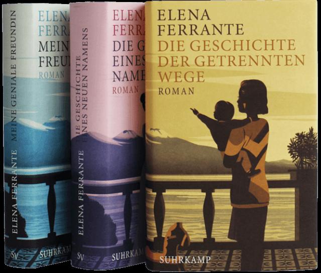 LESUNG in Wuppertal: Elena Ferrante &quote;Die Geschichte der getrennten Wege&quote;